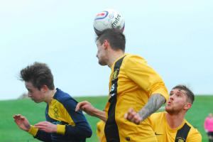 Action from Saturday's South Division derby between Crossgates Primrose and Lochgelly Albert.