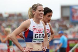 Eilidh Doyle and her Great Britain team-mates missed out on a bronze medal by just 0.23 seconds at the World Relays in the Bahamas.