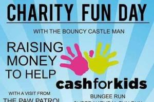 A charity fun dau takes place in Rosyth on Sunday.