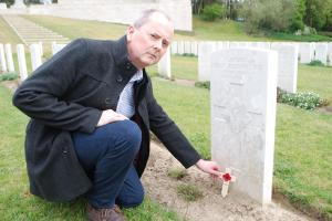 Family of Rosyth engineer honour his sacrifice