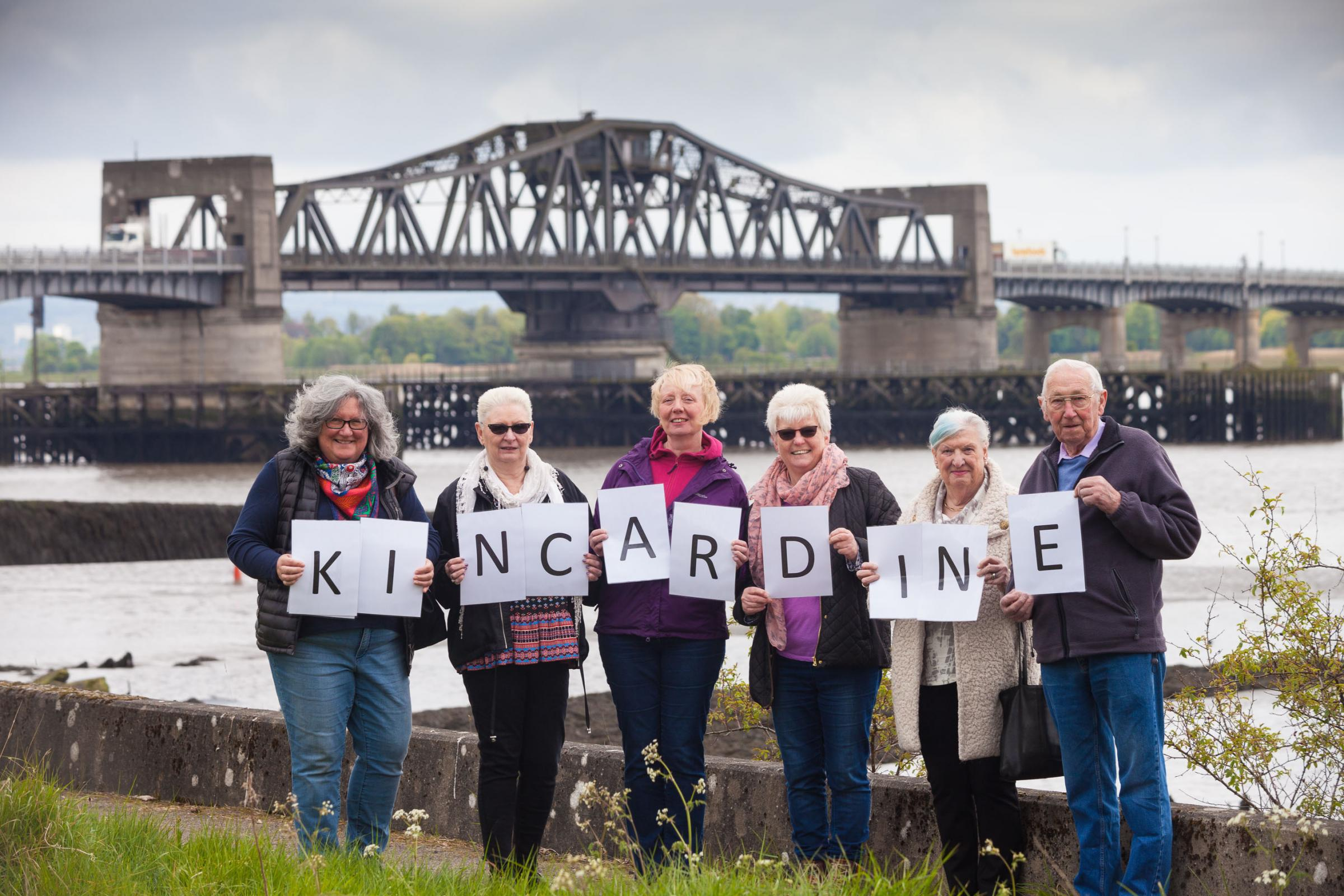 Residents in Kincardine will be asked to vote twice on June 8. Pictured are Janice McLaughlin, Pauline Douglas, Lesley Gavin, Enid Trevett, Mary Harley and Willie Anderson.