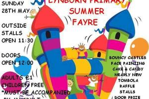 Lynburn Primary School's Fun Day this weekend