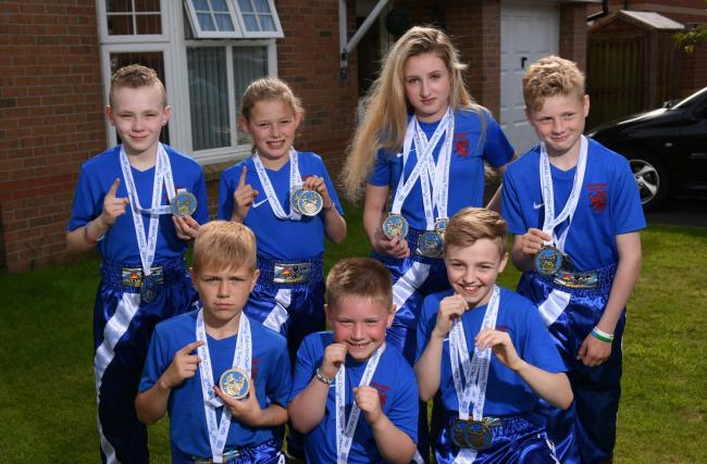 West Fife kickboxing stars win medals at world championships