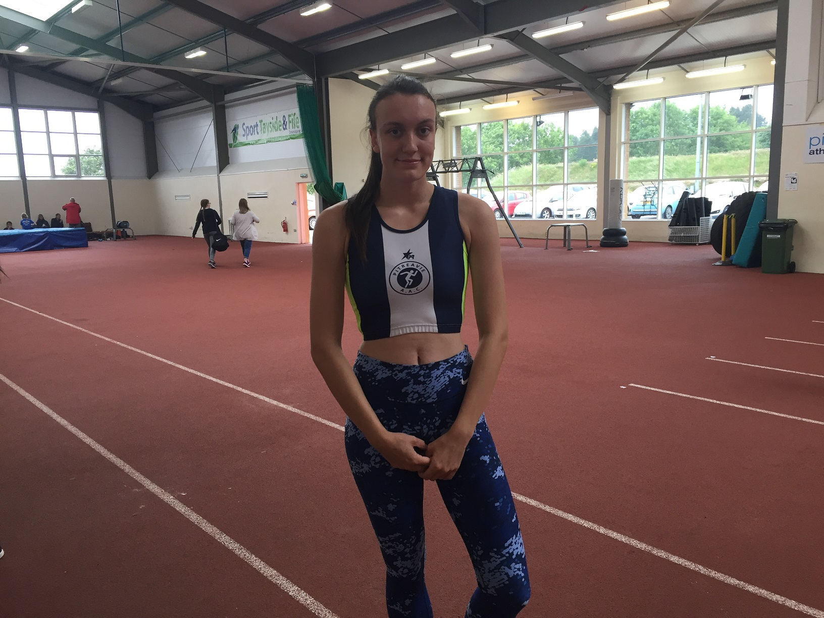 Bethany McAndrew is in the Team Scotland squad for the Commonwealth Youth Games.