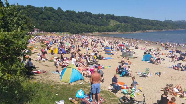 Silver Sands beach off limits after unknown pollutant found
