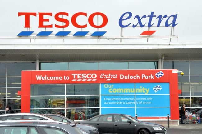 Tesco's Extra store at Duloch
