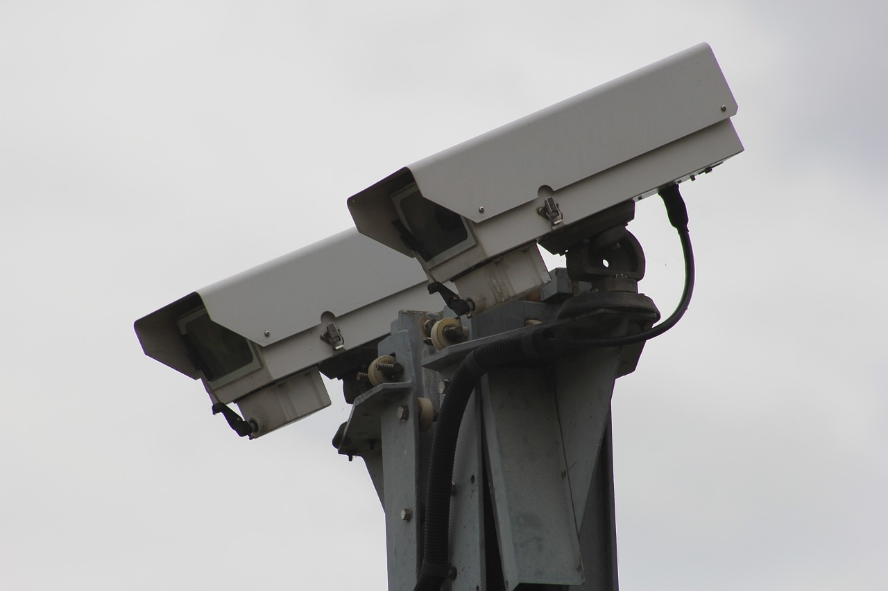 One local believed they were police cameras.