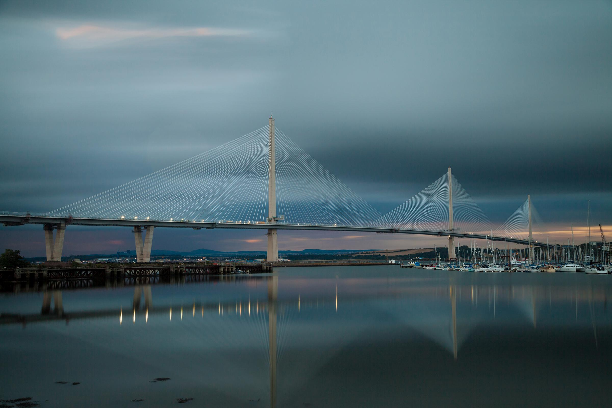 Queensferry Crossing wins 'Greatest Contribution to Scotland' award