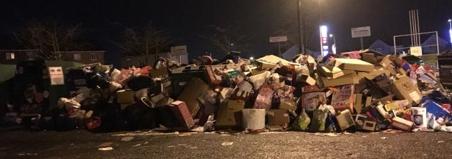 Fly-tipping or recycling? The other side of West Fife's Christmas