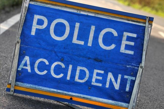 Two cars removed from road after crash in Dunfermline