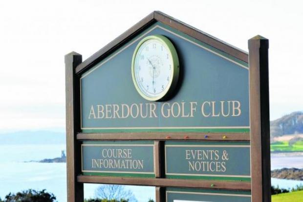 Aberdour in the swing for new season!