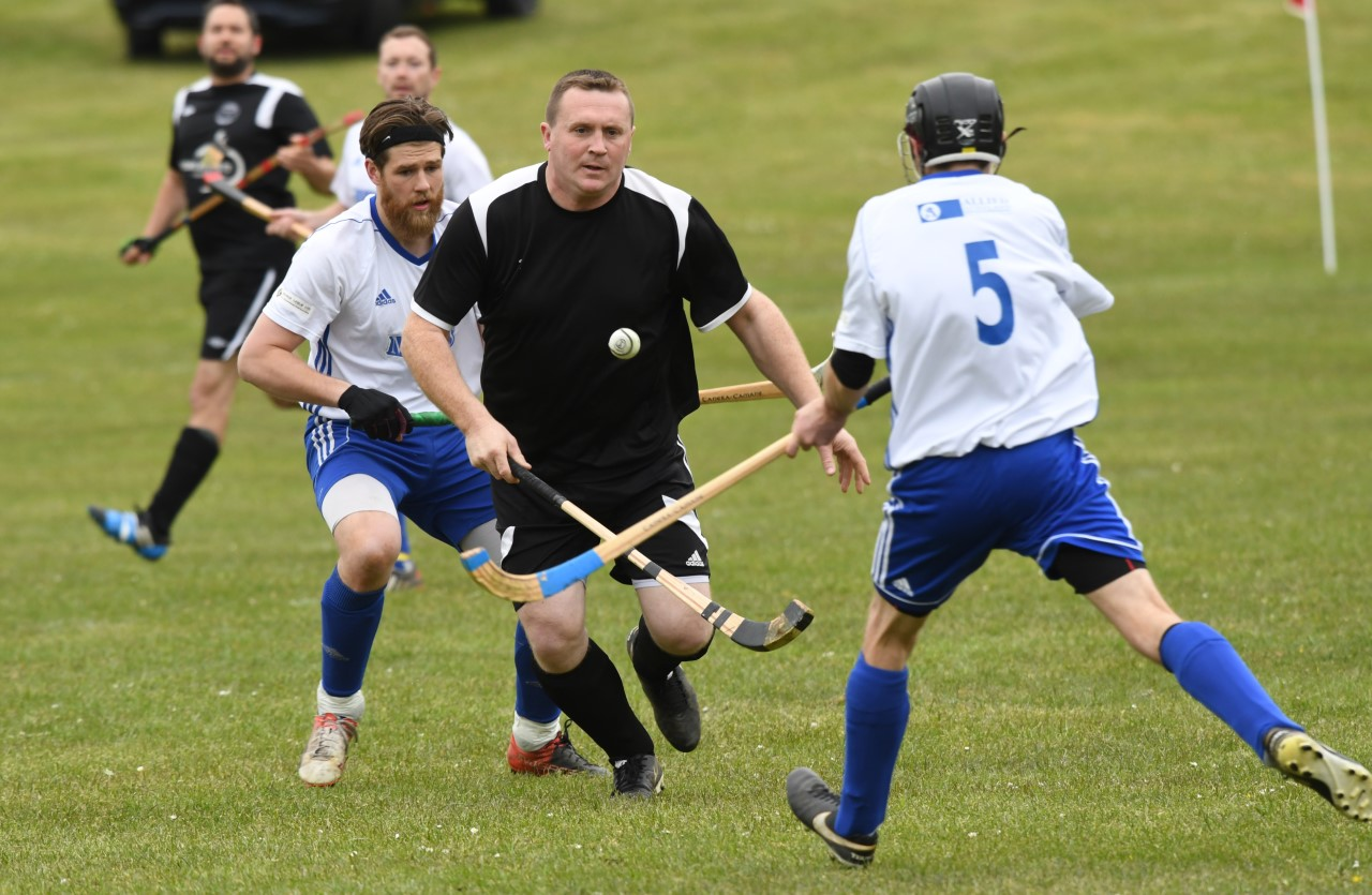 Shinty club in new player search
