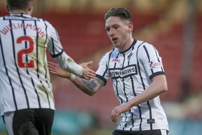 Dunfermline Athletic striker Declan McManus believes Pars were 'creators of  their own downfall' in Greenock Morton Scottish Cup loss | Dunfermline Press