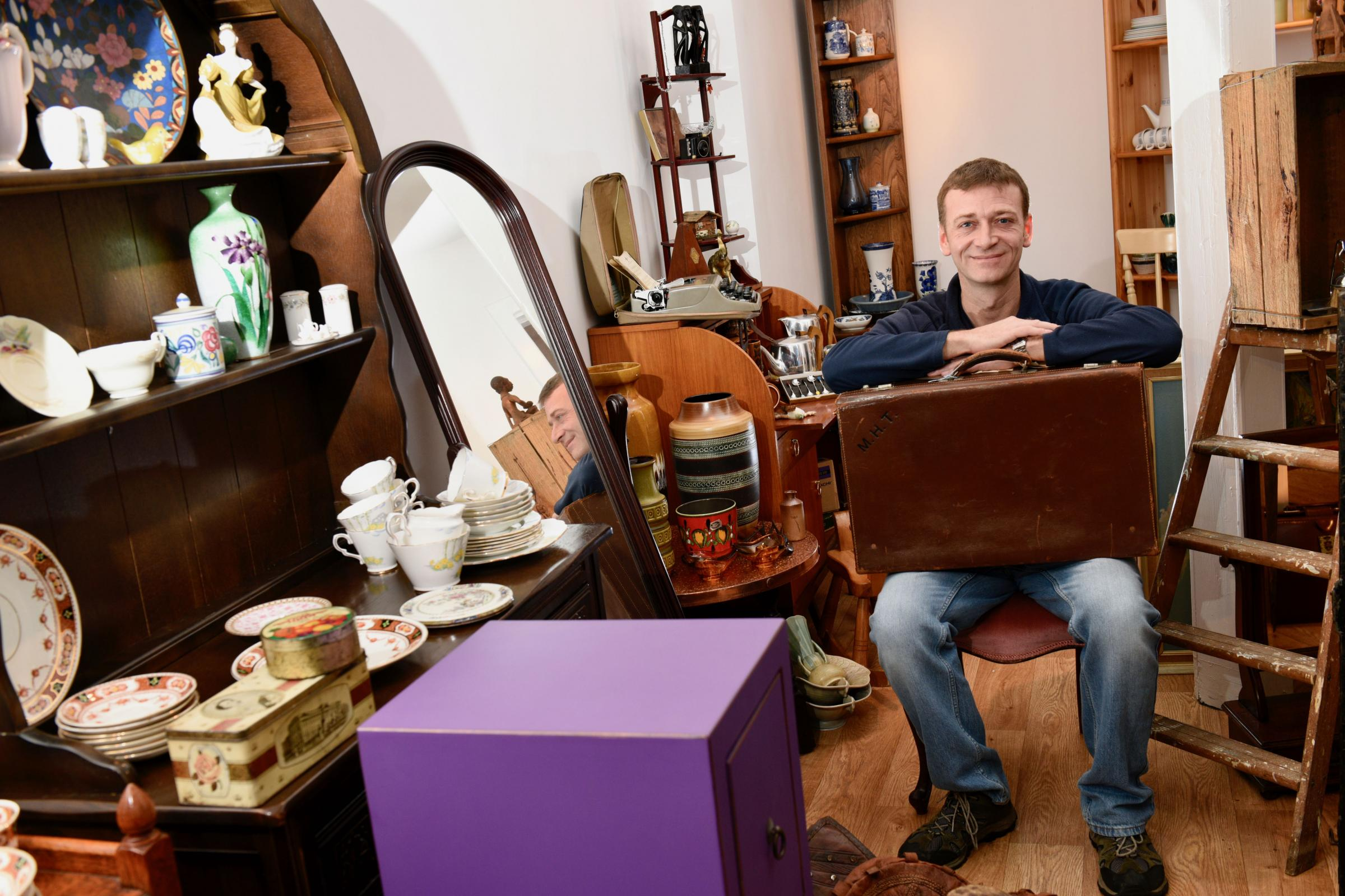 Dunfermline shop features on hit BBC TV show