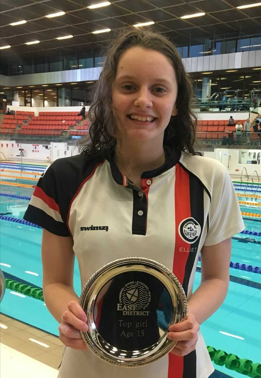 Ellie Turner. Photo: Carnegie Swimming Club.