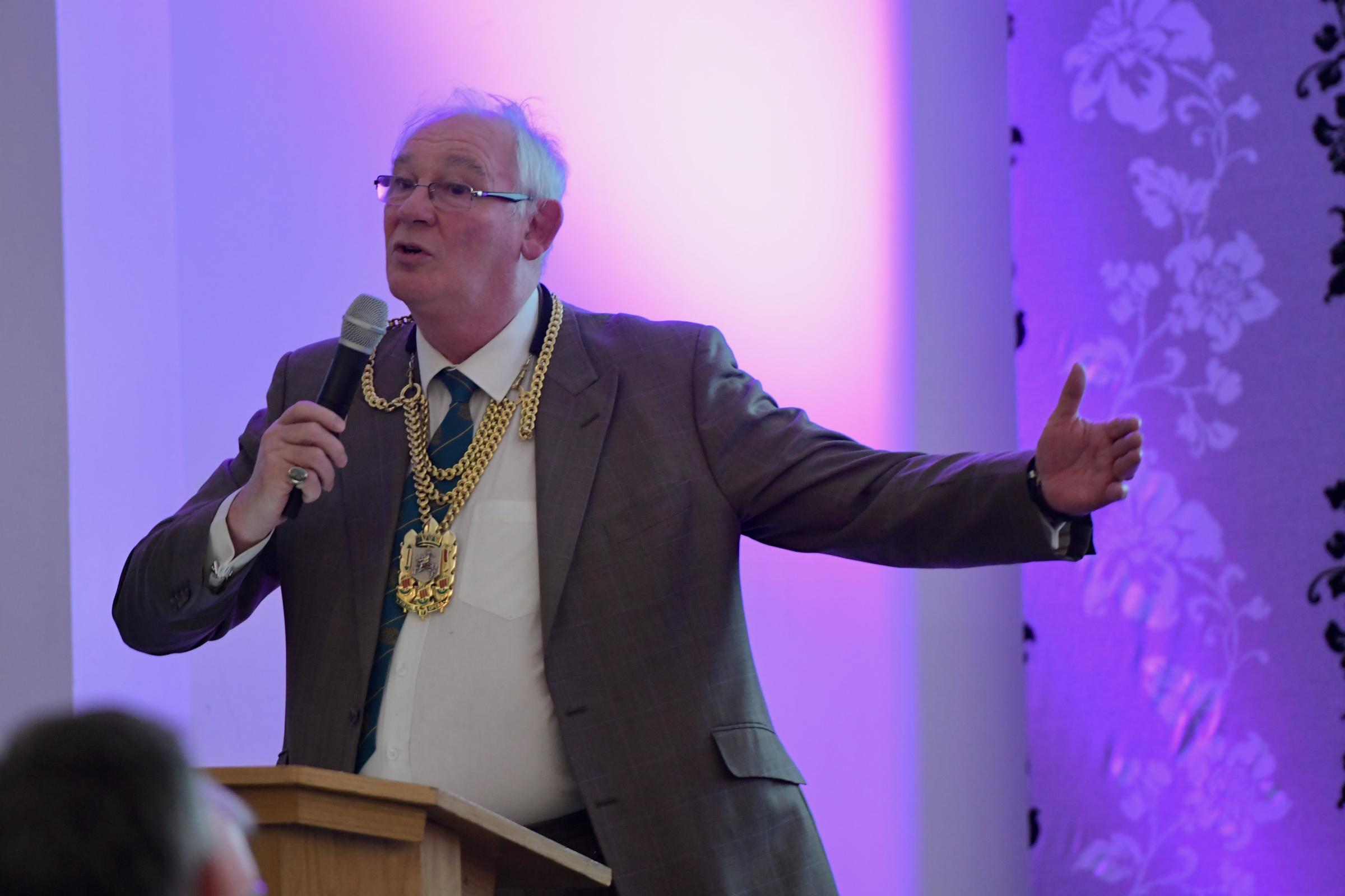 Fife Provost Jim Leishman has a street named after him.