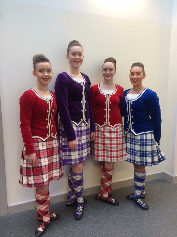 Louise Barton, Kate Crawford, Emma McDonald and Ellie Forrester will perform in this month's Norwegian Military Tattoo in Oslo.
