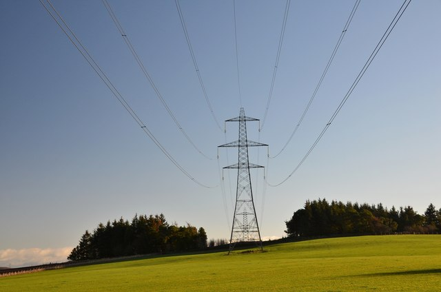 Overhead lines will be moved at Kincardine Power Station.