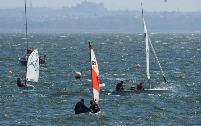 Dalgety Bay Sailing Club was targeted by thieves.