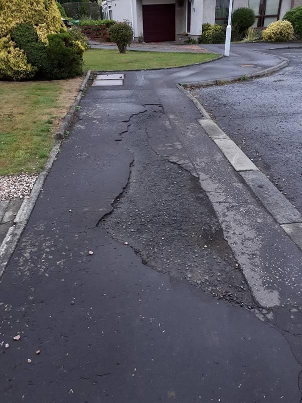 'Third World' pavements are 'scaring the elderly'