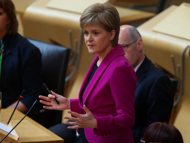 Dunfermline Press: Nicola Sturgeon outlined the rules in the Scottish Parliament