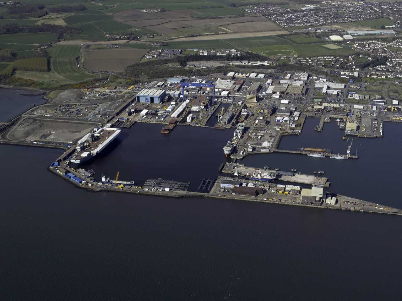 Rosyth Dockyard voted one of the best 200 projects in the world