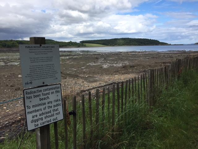 Radiation clean up in Dalgety Bay is delayed - again