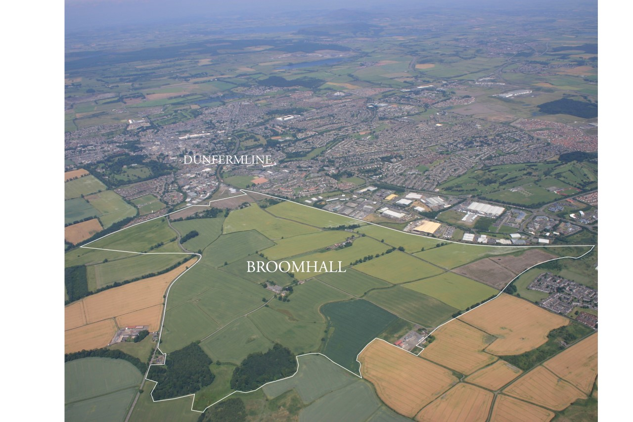 Proposals approved for 2,180 new homes and two schools at Broomhall