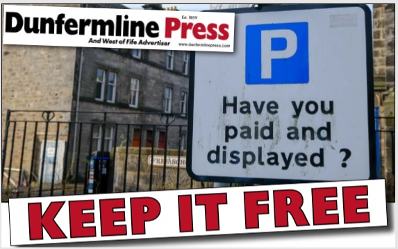 The Scottish towns and cities that DON'T charge for Sunday parking