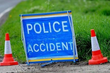 A985 re-opens following accident