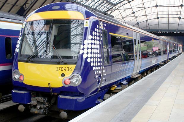 Abellio ScotRail train.