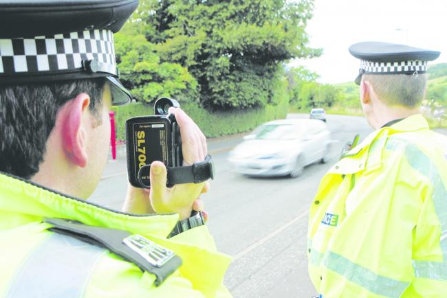Police have spoken to drivers in Arthur Street about their speed.