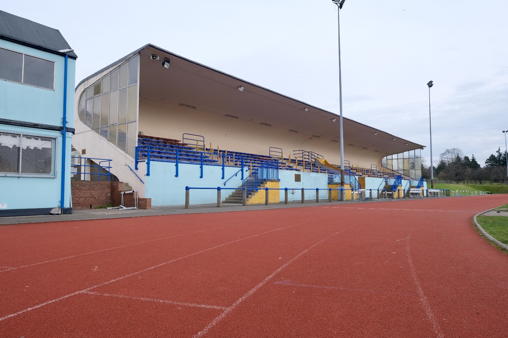 Spring clean with £22,000 maintenance job for home of athletics in Dunfermline