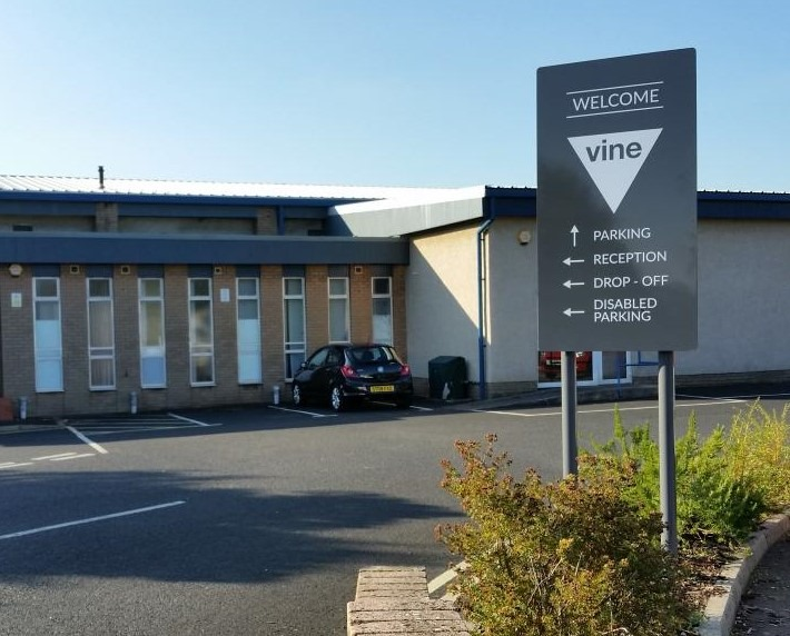 The Vine Conference Centre could be the new premises of Dunfermline's driving test centre but it is yet to be confirmed. Photo: Shirley-Anne Somerville's social media