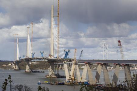 More than 6,500 motorists were caught by average speed cameras during construction of the Queensferry Crossing.