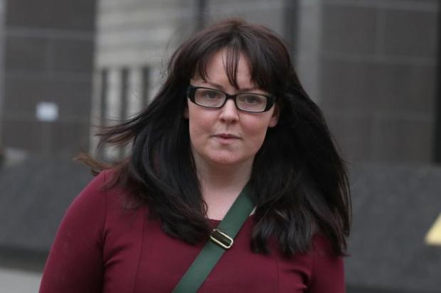 Former SNP Mp Natalie McGarry, who is originally from Inverkeithing, has been jailed for embezzlement. Photo: PA.