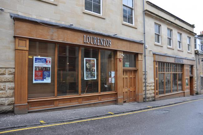 The incident happened at Lourenzo's in Dunfermline